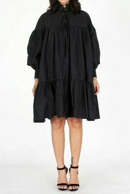 Mock Ruffled Dress