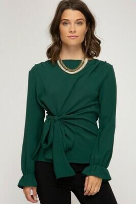 Emerald Knot Top