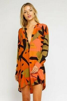 Rust Tunic Dress