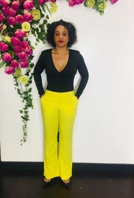 MODCHIC Yellow Pants