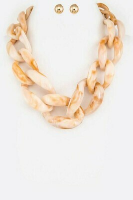 Nude Chain Necklace