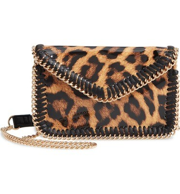 Sondra Roberts Leopard Crossbody Bag