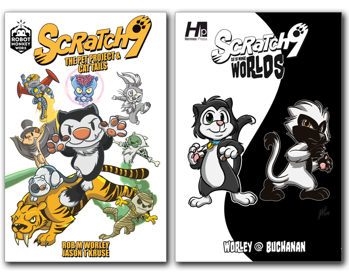 Scratch9 Volume 1 and Volume 2 Bundle 9780996672719-9781613450857