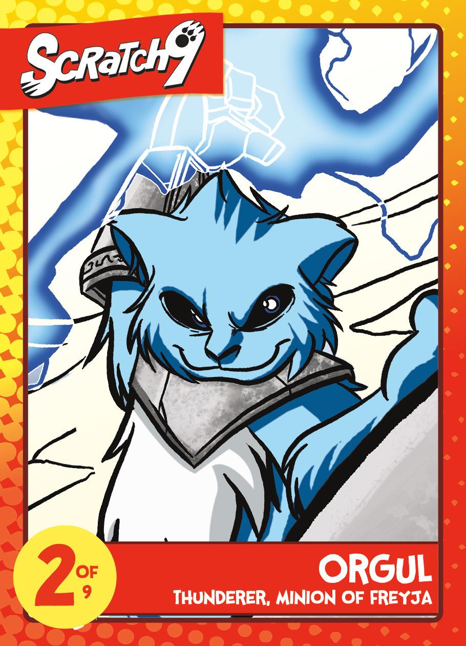 Scratch9 Trading Card Set