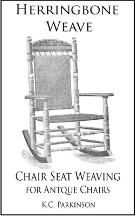 Herringbone Weave Chair Seat Weaving For Antique Chairs