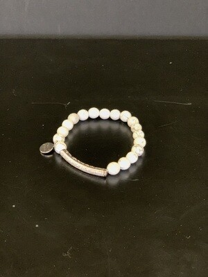 Glitz Silver Pepper Bracelet