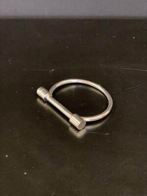 Bar Silver Bracelet(L/XL)