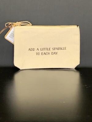 Add A Little Sparkle Canvas Bag