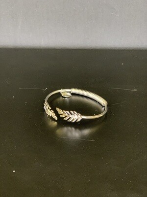 Goddess Silver Laurel Leaf Bracelet