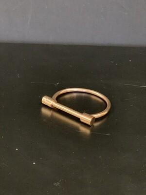 Bar Rose Gold Bracelet(L/XL)