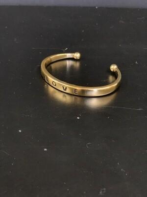 Love Gold Bracelet(S/M)