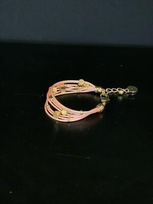 Braid Scarlet Bracelet