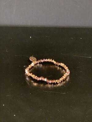 Goddess Rose Gold Lexis Bracelet