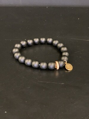 Eternity Coal Bracelet(S/M)