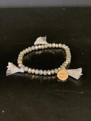 Tassel Navy Bracelet