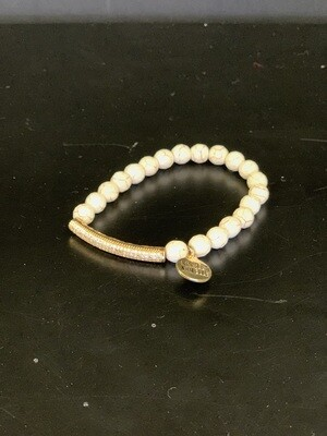 Glitz Khaki Bracelet(S/M)