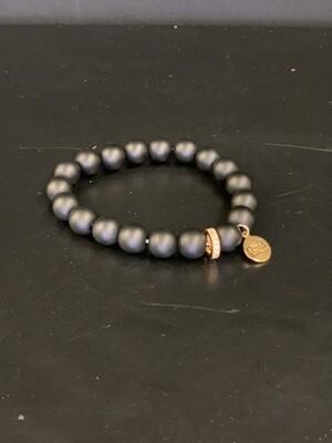 Eternity Coal Bracelet(L/XL)