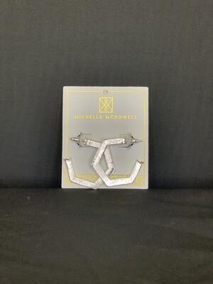 Beaumont Silver Earrings