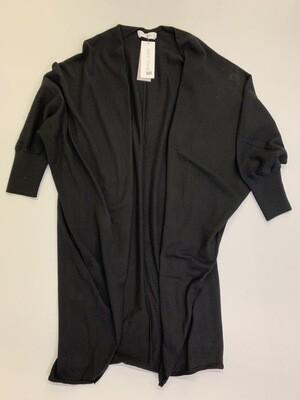 Cashmere Kimono-Black