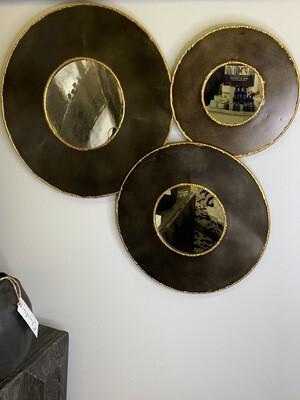 Alcala Round Mirrors- set of 3