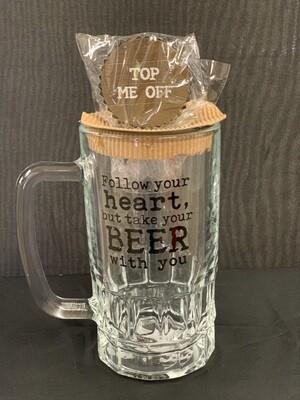 Follow Beer Mug Set