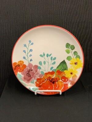 Floral Spring Plate