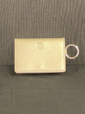 Leather ID Case- Gold