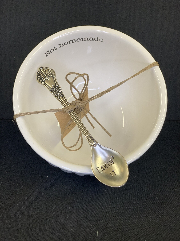 Not Homemade Dip Bowl