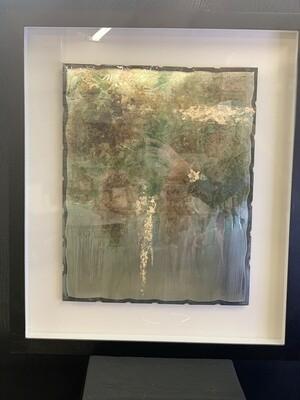 Rustic Patina Framed Print