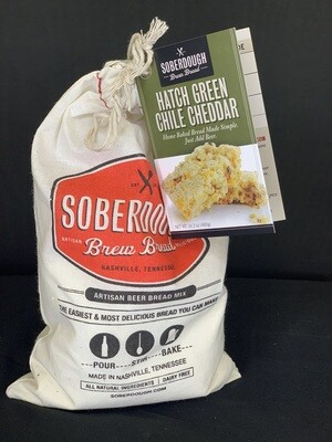 Soberdough-Green Chili Cheddar