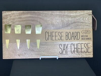 Say Cheese Serving Board Set