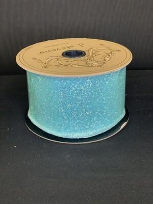Sugar Glitter Aqua Ribbon