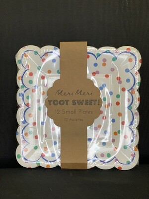Toot Sweet Spotty Plate-small