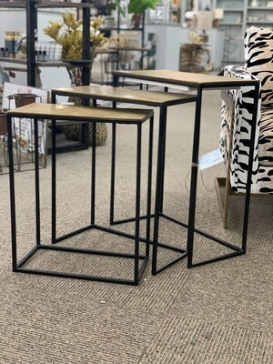 Gold Tables Set of 3