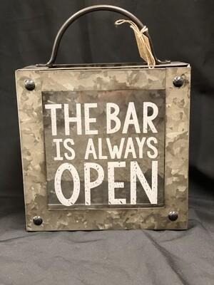 Bar Is Always Open