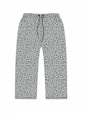 Grey Leopard Pants
