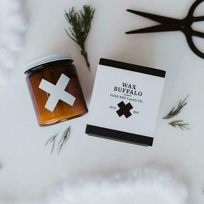 Wax Buffalo Rosemary+Mint