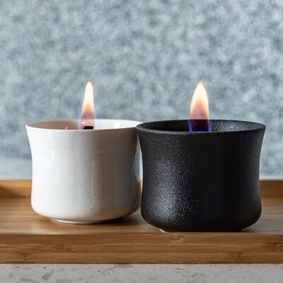 Ceramic Candle Deluxe Black