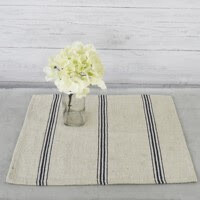B&W Stripe Placemat