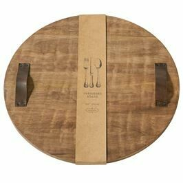Round Oversized Wood Board