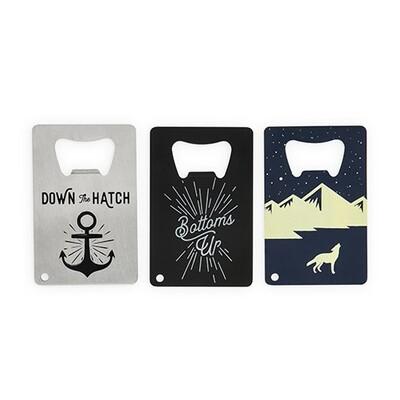 Card Bottle Openers