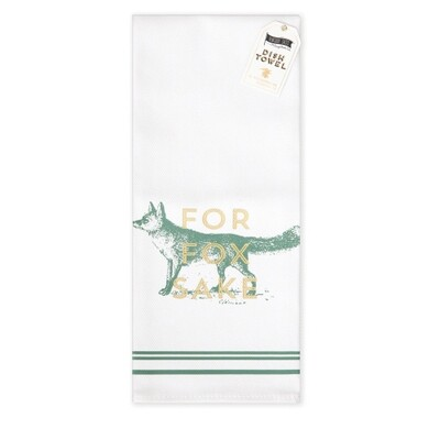Fox Cotton Bar Towel