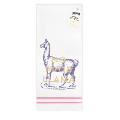Llama Cotton Bar Towel