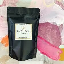 Lavender Travel Salt Soak