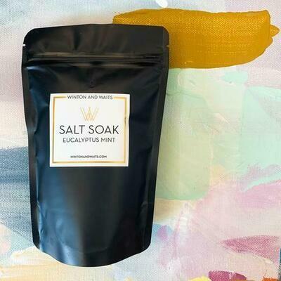 Eucalyptus Mint Travel Salt Soak