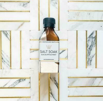 Eucalyptus Small Salt Soak