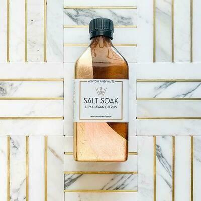Himalayan Citrus Large Salt Soak