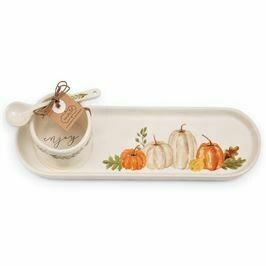 Gather Dip and Tray Set