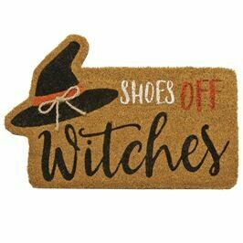 Witch Shoe Door Mat