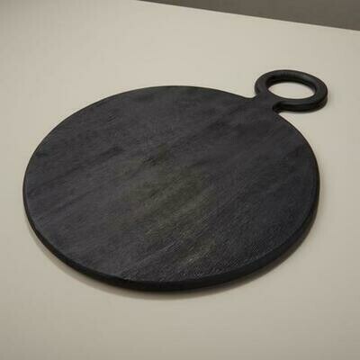 Black Mango Round Board Medium